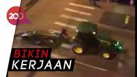 Video Pengejaran Traktor Curian di Colarado