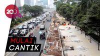 Yuk, Intip Revitalisasi Trotoar MH Thamrin