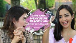 Cara Buat Tempat Plastik dari Tabung Tisu