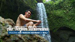 Air Terjun Tibumana, Pesona Air Terjun Kembar Di Bali