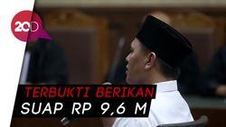 Bupati Lampung Tengah Nonaktif Divonis 3 Tahun Bui