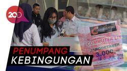Kisruh Karcis KRL, Antrean Panjang Terlihat di Stasiun Bogor
