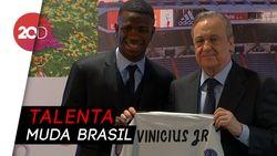 Vinicius Junior: Saya Bermain Seperti Neymar, Bukan Ronaldo