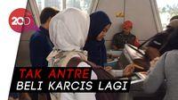 e-Ticketing KRL Sudah Normal, Begini Suasana di St Pasar Minggu