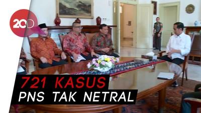 Temui Jokowi, Bawaslu Curhat Masalah Netralitas ASN di Pilkada