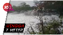 Ngeri! Gelombang Tinggi Terjang Pesisir Pantai Selatan Pulau Jawa