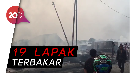 Bapak dan Balitanya Tewas Berpelukan di Kebakaran Cakung
