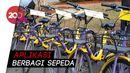 Hore! Sekarang Bisa Naik Sepeda Gratis di Monas