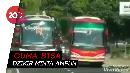 Begini Suara Hati Netizen Terhadap Aksi Nekat Bus Ngebut