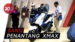 Skutik Bongsor Honda Forza Siap Menantang Xmax