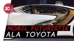 Toyota Pamerkan Mobil Masa Depan di GIIAS 2018