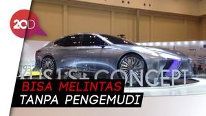 Lexus LS+ Concept, Mobil Masa Depan yang Ikut Mejeng di GIIAS 2018