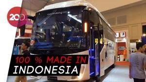 Hebat! Bus Buatan Lokal Ini Sudah Diekspor Ke Fiji