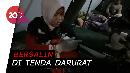 Warga Lombok Melahirkan saat Gempa