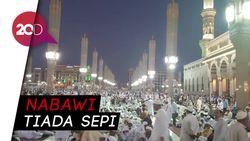 Suasana Nabawi Setelah Ditinggal Jemaah Indonesia
