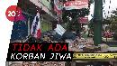 Ruko di Kota Mataram jadi Korban Keganasan Gempa 6.2 SR