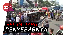 Mobil Tercebur di Kali Glodok, 3 Penumpang Terluka