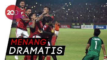 Kalahkan Thailand, Indonesia Juara Piala AFF U-16 2018