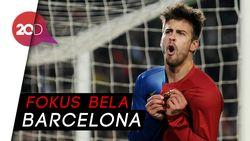 Pique Pensiun dari Timnas Spanyol Demi Barcelona