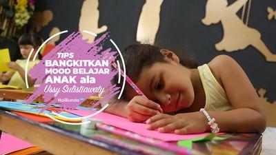 Tips Bangkitkan Mood Anak Ala Ussy Sulistiawati