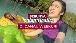 Serunya Bermain Bersama Warga di Danau Weekuri, Sumba