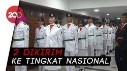 54 Anggota Paskibraka DKI Jakarta 2018 Dikukuhkan