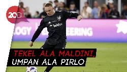 Aksi Epic Rooney di Injury Time