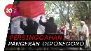 Festival Sukosewu Bentangkan Bendera Merah Putih Jumbo