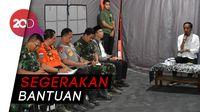 Instruksi Presiden dari Tenda Pengungsi  Gempa Lombok