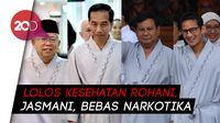 Jokowi-Maruf Amin dan Prabowo-Sandi Lolos Tes Kesehatan