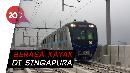 Netizen Takjub Lihat Penampakan Stasiun Senayan MRT Jakarta