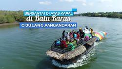 Perjalanan Menyusuri Sungai Cijulang, Pangandaran