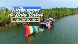 Water Jump, Sensasi Terbang dan Dilempar di Sungai Cijulang, Pangandaran
