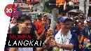 Berpanas-panasan Demi Pawai Obor Asian Games 2018