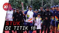 Cerita Ade Novriza Pembawa Obor Asian Games yang Terjebak Macet
