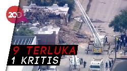 Ledakan Gas Runtuhkan Gedung di Denver