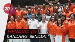 Lepas Atlet dan Ofisial Asian Games, Anies Beri Semangat