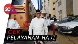 Menag Jalan Kaki dan Naik Bus ke Masjidil Haram Bersama Jemaah
