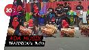 Meriahnya Marching Band di Pawai Obor Asian Games
