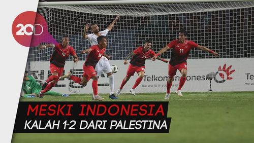 Saat Suporter Indonesia Beri Dukungan untuk Palestina