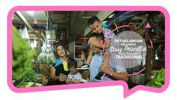 Petualangan Keluarga Sissy Priscillia ke Pasar Tradisional