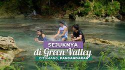 Menikmati Suasana Alam di Sungai Citumang, Pangandaran