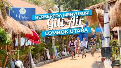 Bersepeda Menjelajahi dan Menikmati Indahnya Gili Air Lombok