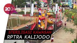 Wajah RPTRA Kalijodo Jelang Pawai Obor Asian Games 2018