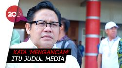 Cak Imin Bantah Ancam Jokowi Bila Gandeng Mahfud MD