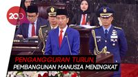 Di Sidang Tahunan MPR, Jokowi Pamer Angka Pengangguran Menurun