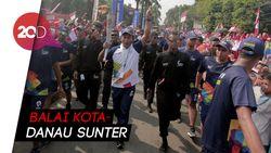 Obor Asian Games Siap Keliling Jakarta Lagi!