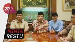 Prabowo-Sandi Sowan ke NU
