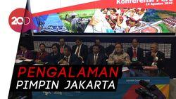 Promosi Asian Games, Para Menteri Jokowi Paparkan RAPBN di JCC