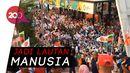 RPTRA Kalijodo Penuh Sesak Gara-gara Pawai Obor Asian Games